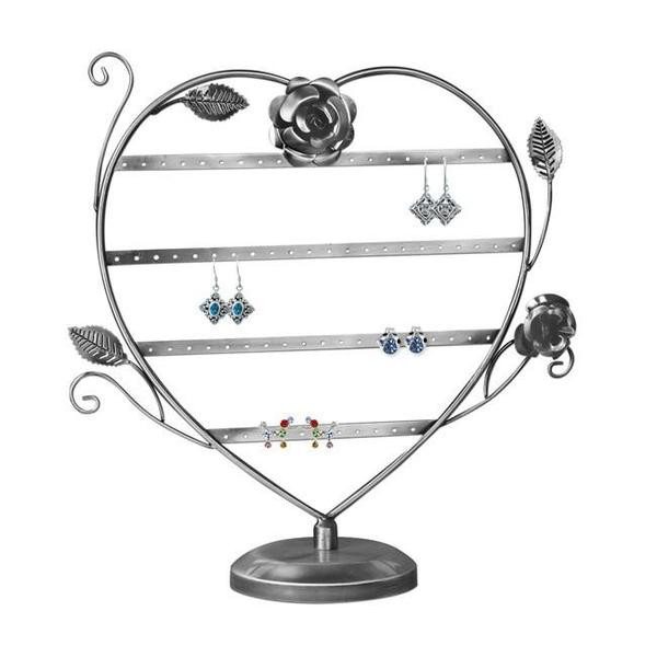 Use the Metal Wire Earring Display Stand with Floral Design this Spring | NileCorp.com