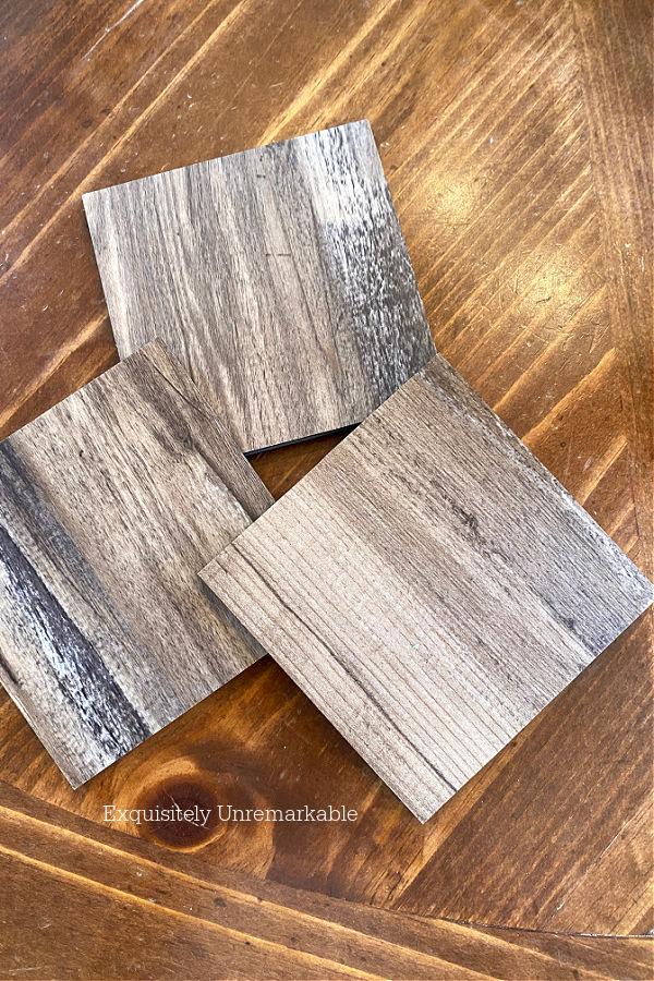 Flooring Sample Squares