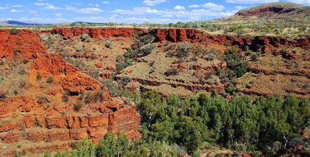Ketampakan Alam, Keadaan Penduduk dan Ekonomi di Benua Australia