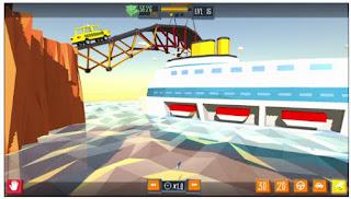 لعبة بناء الجسور العلقة للاندرويد