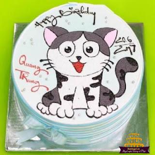 Bánh-sinh-nhật-hình-con-mèo-đáng-yêu