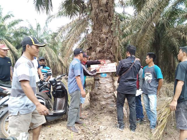Masyarakat Desa Bina Karya SP 5 Klaim Lahan PT Lonsum