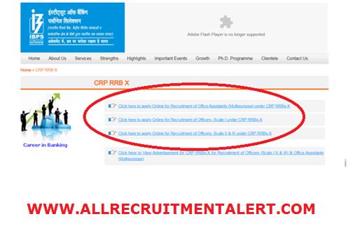 IBPS CRP RRB Recruitment