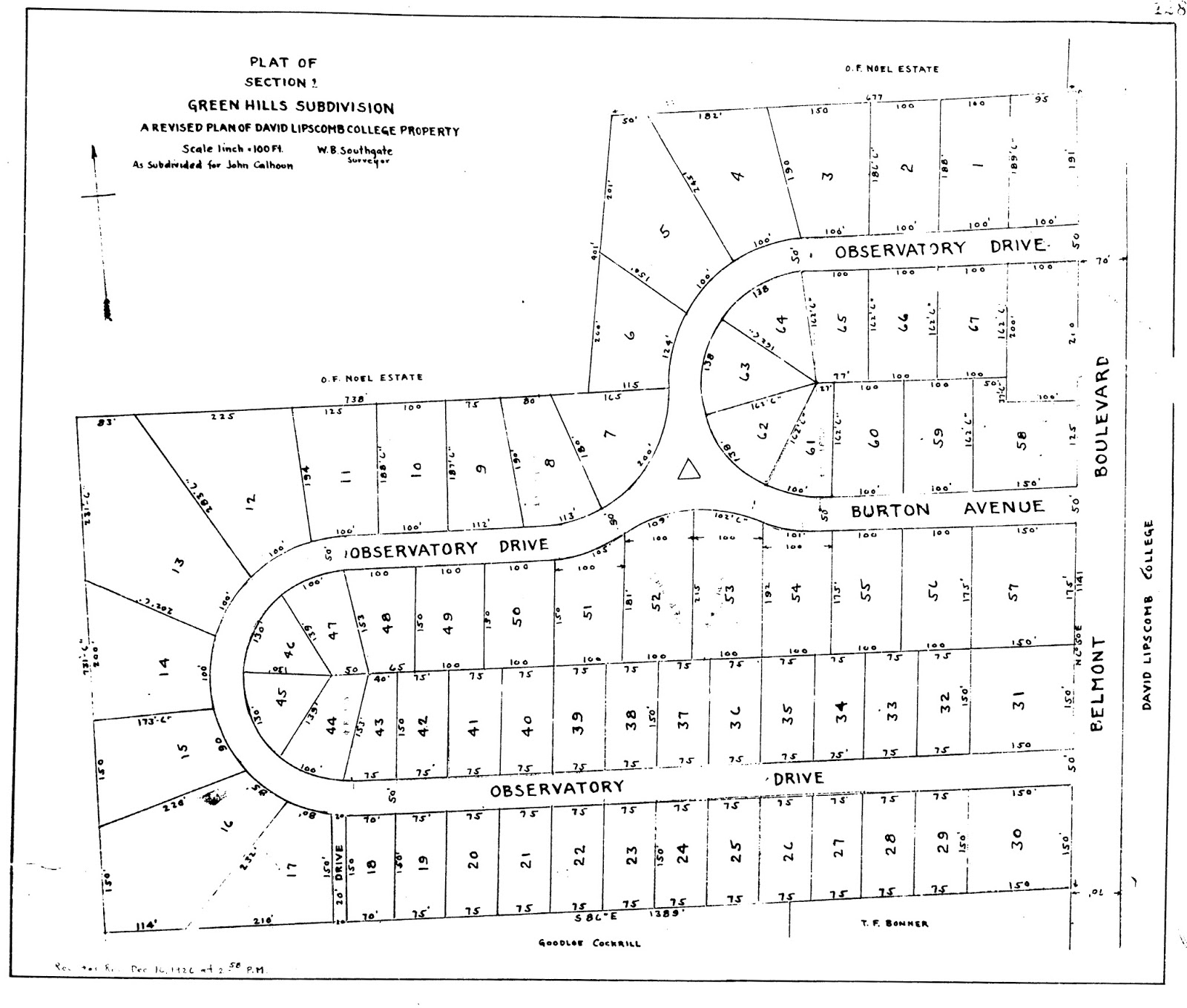 Nashville History: Green Hills