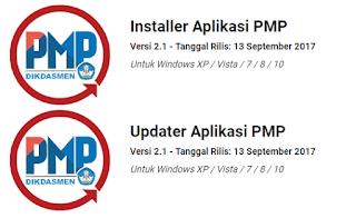 Update Aplikasi PMP Versi 2.1