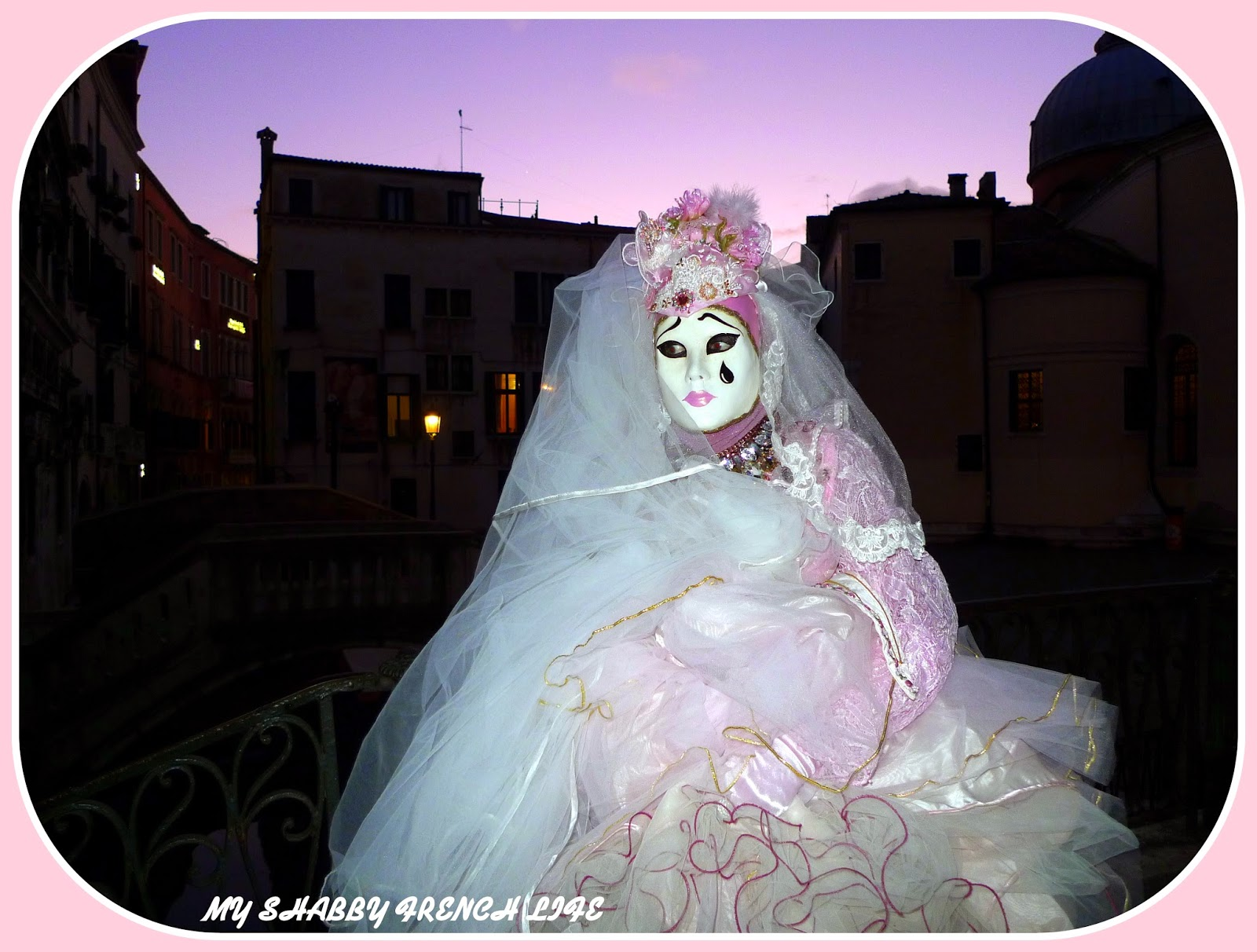 my shabby french life mon carnaval de venise 2015. Black Bedroom Furniture Sets. Home Design Ideas