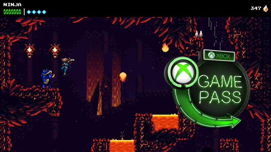 xbox game pass 2020 the messenger sabotage studios devolver digital xb1
