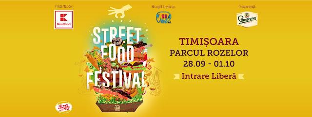 Mâncarea și muzica bună la Street Food Festival de la Timisoara