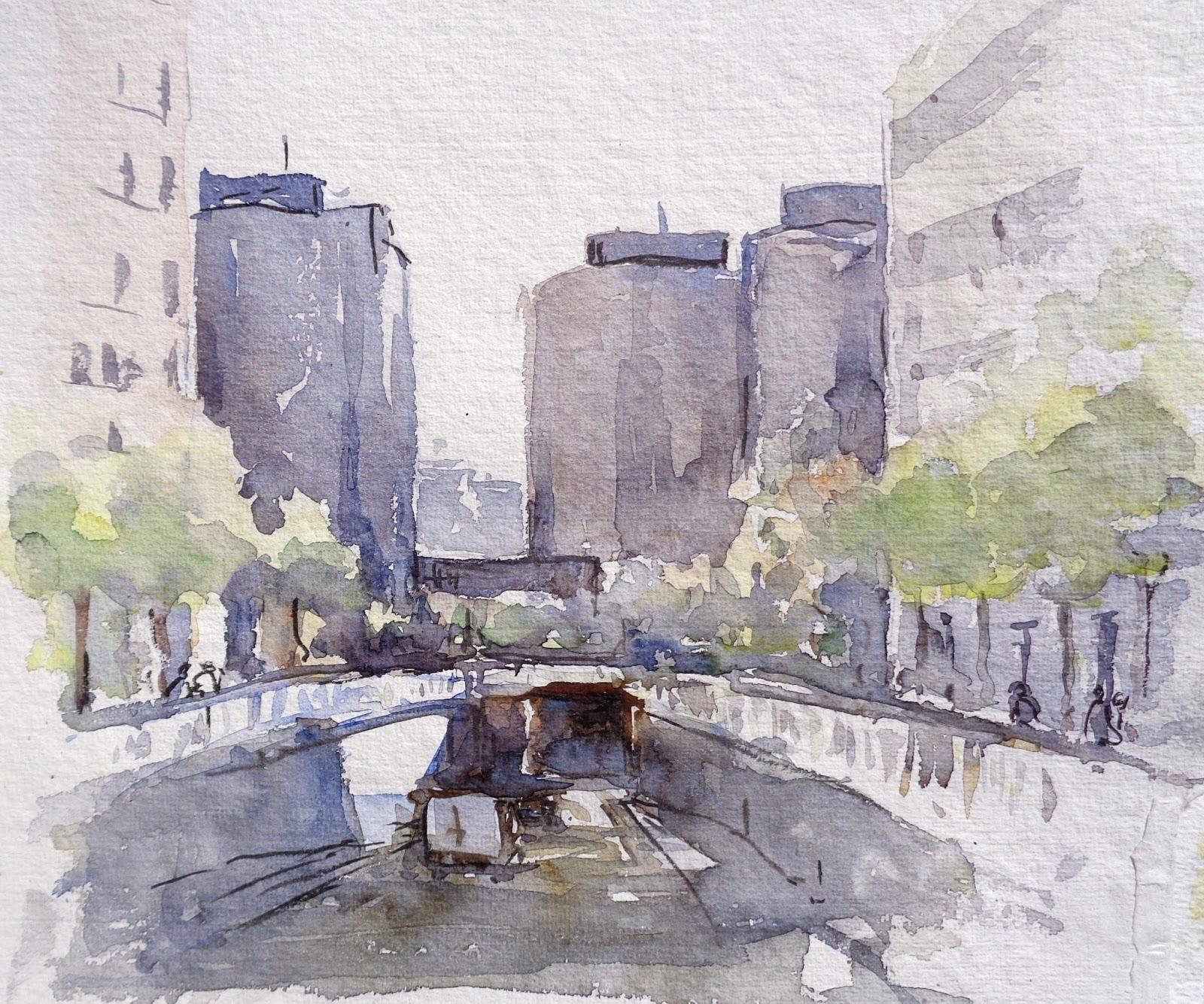calle sabino de arana barcelona la colla dels dimecres calle sabino arana al fondo los edificios trade