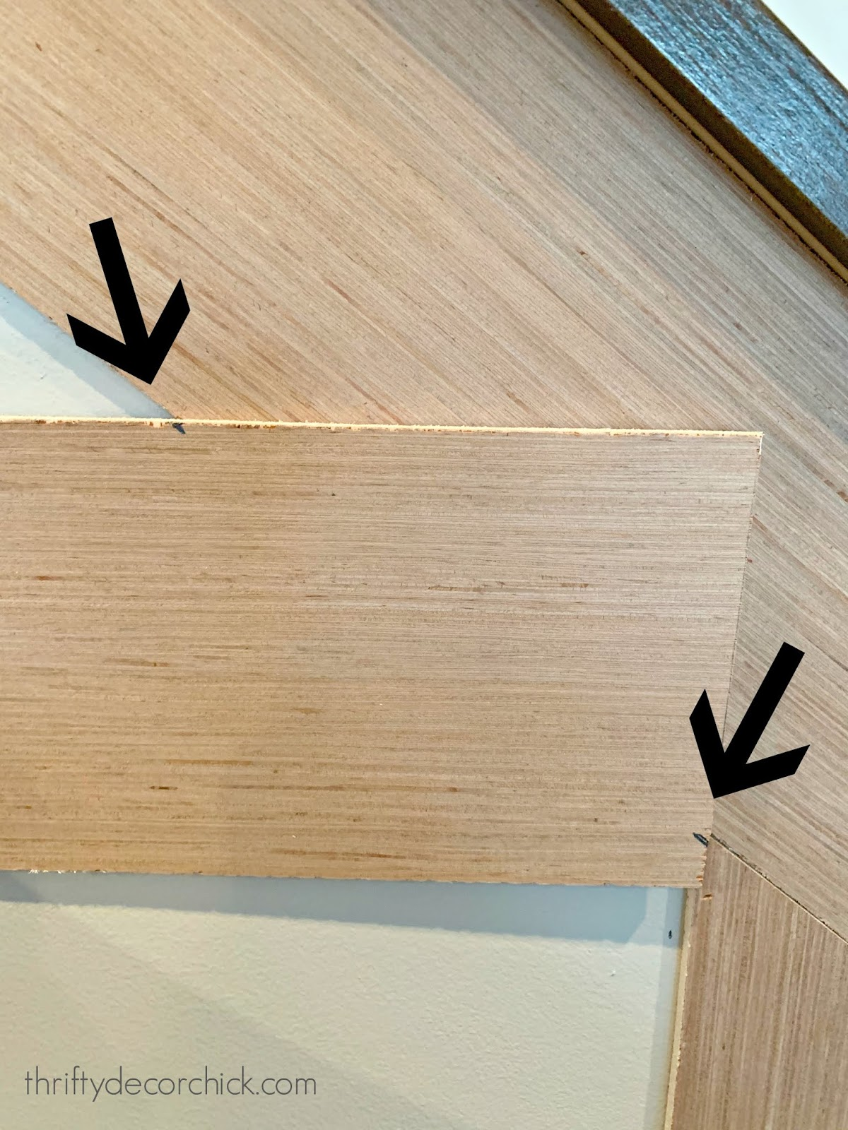 How to get a perfect angle when installing trim