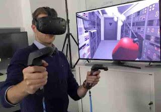 simulasi visual virtual reality