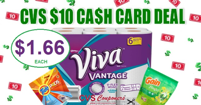 Viva Paper Towel CVS Coupon Deal $1.66 1117-1123