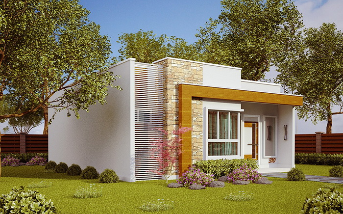 House designs evolve quickly every year. While some designs are timeless, modern present-day designs are always attractive. In some areas, a design stands out for being modern and contemporary, even if the house is not a huge mansion. Even small ones, contemporary houses are both beautiful and full of functionality.  For today's article, we choose to offer contemporary house designs and styles that fit in a small area as well as moderate budget. It will be helpful to those who are looking for new house designs to copy. So if anyone is interested in having this kind of a house then do not miss these following pictures. HOUSE MODEL NO. 1    Contemporary style home with a 6 x 10 meters house built on a small area. It consists of two bedrooms, one bathroom, a kitchen and a living area.                        HOUSE MODEL NO. 2    A compact single-storey house. This house has an area of 82 square meters and consists of 2 bedrooms, 1 bathroom, a hall and a kitchen. The estimated cost is about 520,000 Baht or 15,700 US Dollars.                                HOUSE MODEL NO. 3    The house consists of three bedrooms, two bathrooms, one living room, one kitchen and one laundry room. The living area is about 69.98 square meters for this house is a size home.                    HOUSE MODEL 4    This house is 6 × 9 meters with construction cost starting at 500,000 Baht or 15,000 US Dollars with two bedrooms, one bathroom, a kitchen and a living room. This cost does not include garages, floor and glass windows.                                                                        HOUSE MODEL NO. 5    This is a modern style home that consists of one bedroom, one bathroom, one kitchen and a terrace. The living area is 30 square meters with an estimated cost of 350,000 Baht or 10,500 US Dollars.               SOURCE: naibann   This article is filed under: small house floor plans, small home design, small house design plans, small house architecture, beautiful small house design, sm