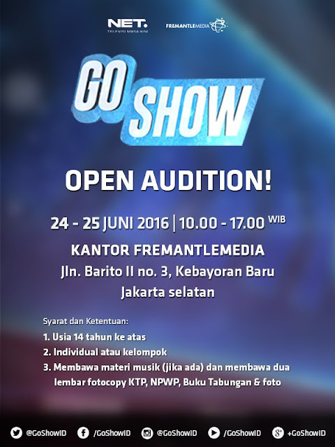 Open Auisi Go Show Net TV