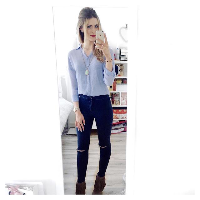 double denim outfit topshop