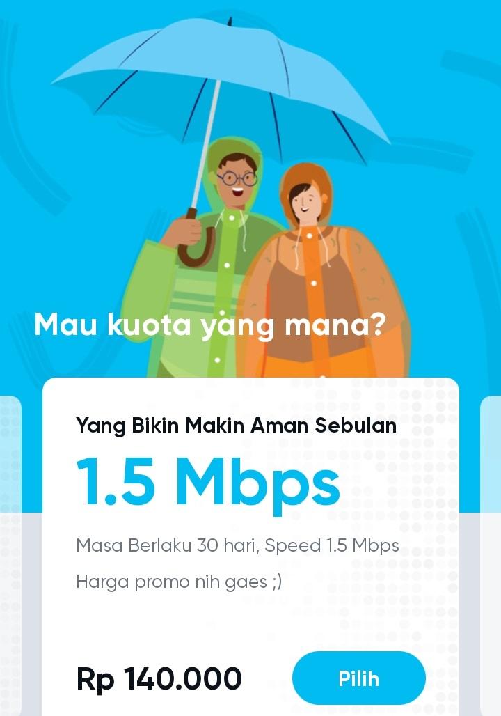 Inidia, Pilihan Paket Internet by.U Terbaik dan Termurah untuk Kamu - Fishertekno