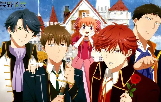 Top Best School Comedy Anime List - Gekkan Shoujo Nozaki-kun (Monthly Girls' Nozaki-kun)
