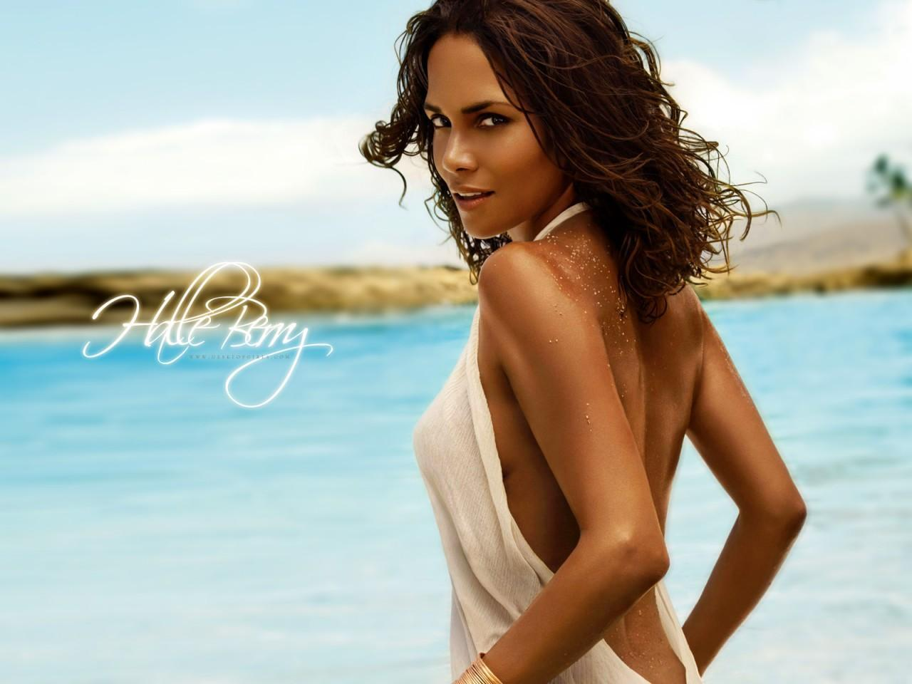 Hollywood All Stars Halle Berry Hd Wallpapers-7204