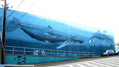 Wyland Whale Wall on Wildwood Boardwalk