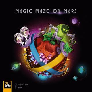 Magic Maze on Mars (unboxing) El club del dado Pic4867261