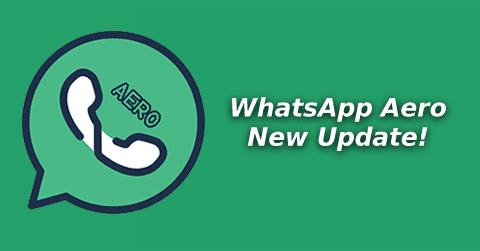 Download WhatsApp Aero New Update