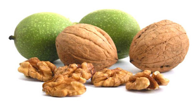Walnut fruit (kernel) contains a lot of calories, but also plenty of nutrients. Proteins are in the highest representation in walnut. From other healthy nutrients in walnut are present B group vitamins, vitamin E, minerals - magnesium, selenium, calcium. The fruit of the walnut is rich in vegetable fiber and antioxidants, so it is recommended to eat at least 7 whole walnuts, to obtain health benefits of nuts.