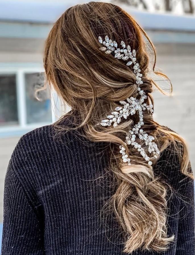 peinados con accesorios peinados recogidos 2020