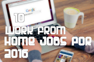 10 work from home jobs for 2017