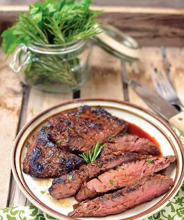 Herb Marinated Skirt Steak