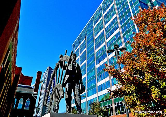 Nashville: Estátua de Thomas Ryman, no Ryman Auditorium