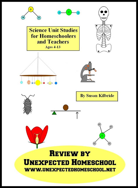 Unexpected Homeschool: Review of Science Unit Studies for Homeschoolers and Teachers from Funtastic Unit Studies