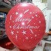 Balon Latex Printing MERRY CHRISTMAS