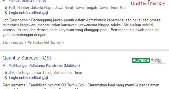 Lowongan Kerja Kota Balikpapan Terbaru 2020 Kerjasurabaya Com Info Lowongan Kerja Di Surabaya Terbaru 2020