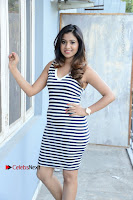 Actress Mi Rathod Spicy Stills in Short Dress at Fashion Designer So Ladies Tailor Press Meet .COM 0017.jpg
