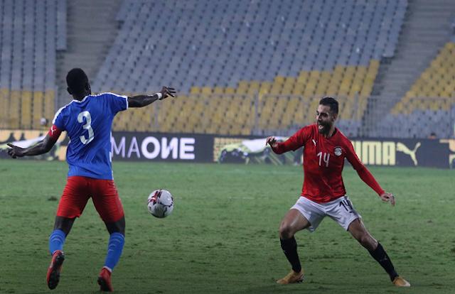 منتخب مصر يفوز علي بوتسوانا بهدف نظيف