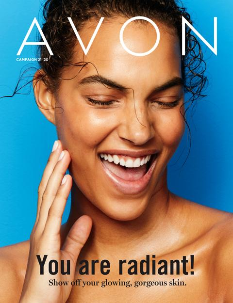 AVON Brochure Flyer Campaign 21 2020 - You Are Radiant!