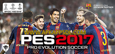 Download Pro Evolution Soccer 2017 Apk + Data Android