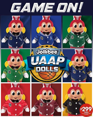 Jollibee lets you show off your school pride with all-new Jollibee UAAP Dolls
