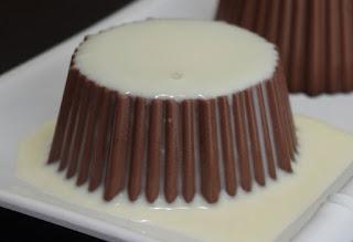 puding sutera cokelat