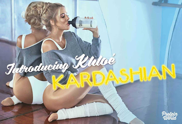 Khloe Kardashian for Protein World 2017 Campaign Photoshoot