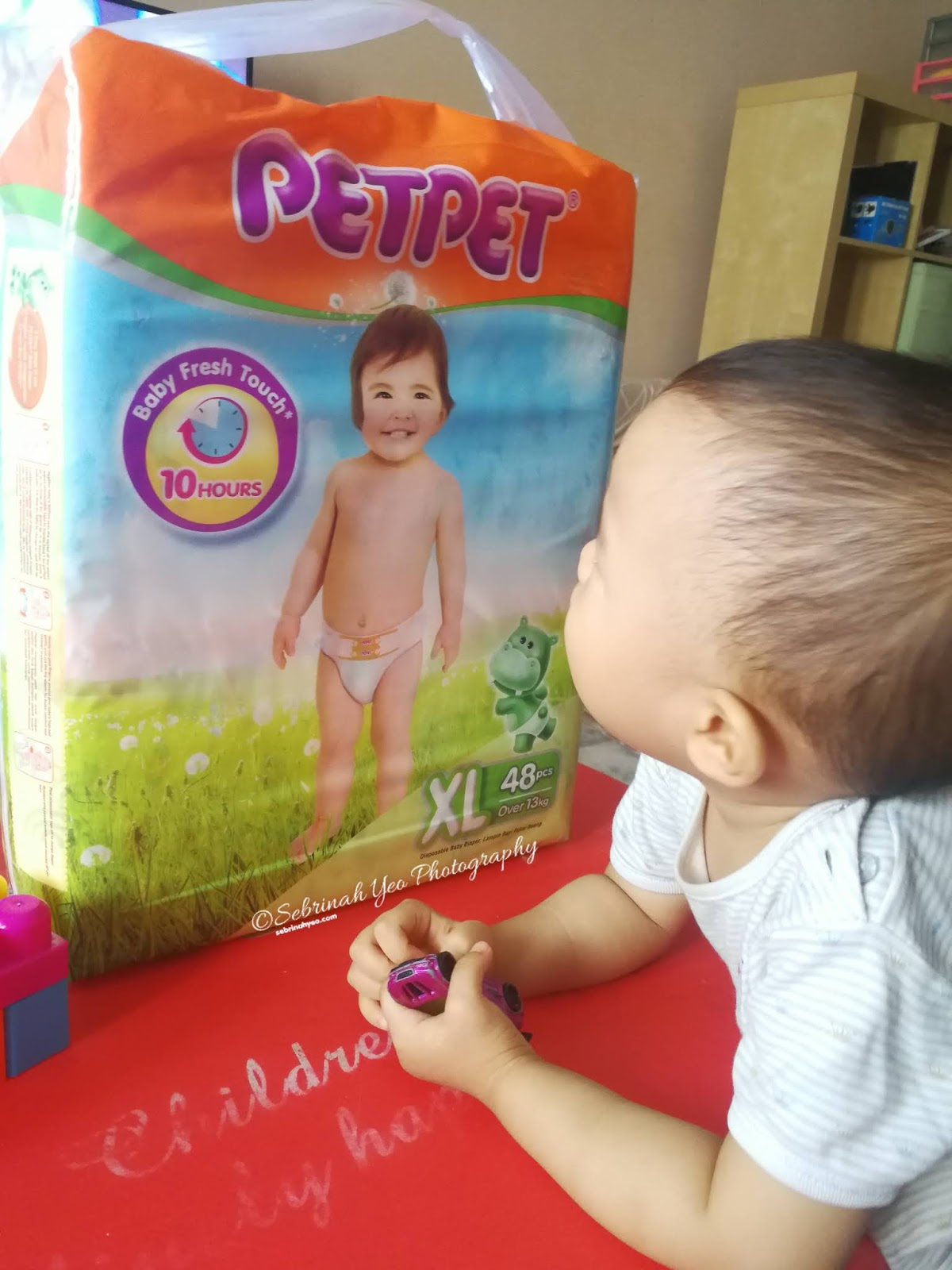 PETPET New Improved Diaper Review - Sebrinah Yeo
