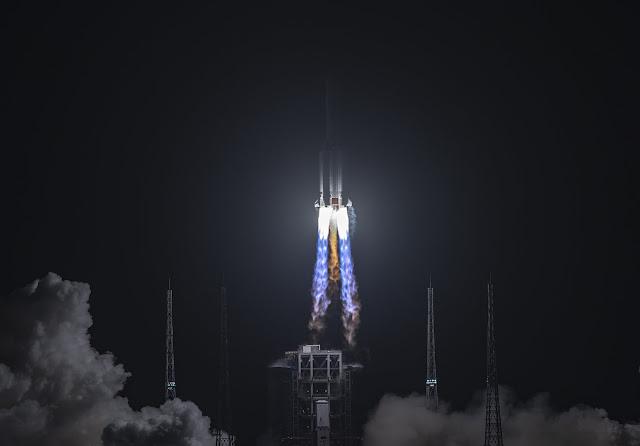 Chanye-5 foi para a lua