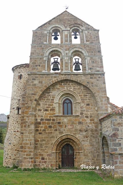 Espadaña de San Salvador de Cantamuda