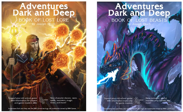 Book of Lost Lore & Book of Lost Beasts