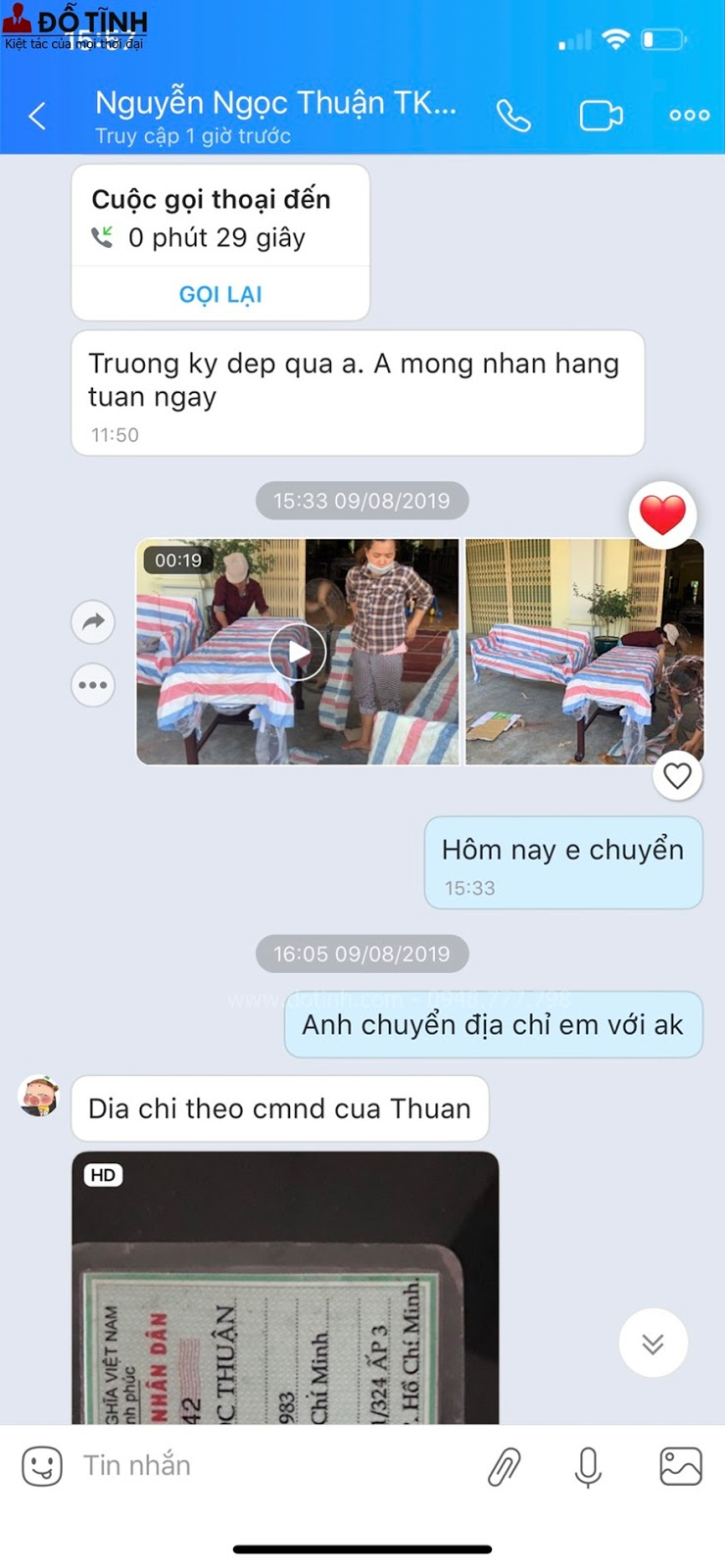 Mới chỉ ngắm hình ảnh mà Dotinh.com gửi cho mà anh Thuận luôn háo hức để nhận được hàng về tân trang cho ngôi nhà của mình
