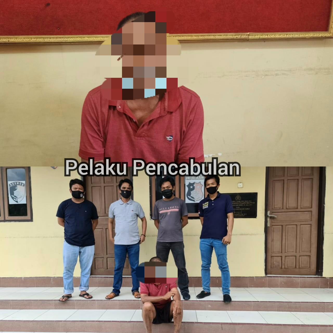 Pelaku tindak pidana Pencabulan ditangkap Polisi