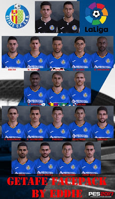 PES 2017 Facepack Getafe 2019 by Eddie Facemaker