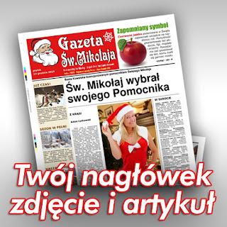 Gazeta Św. Mikołaja  Prezent na Święta