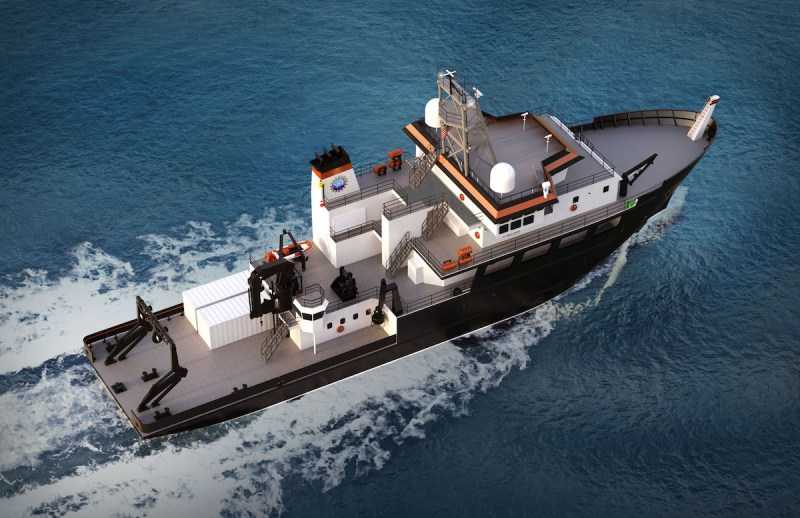 Oregon State Looking for Shipbuilder to Construct a New 193′ Research Ship
