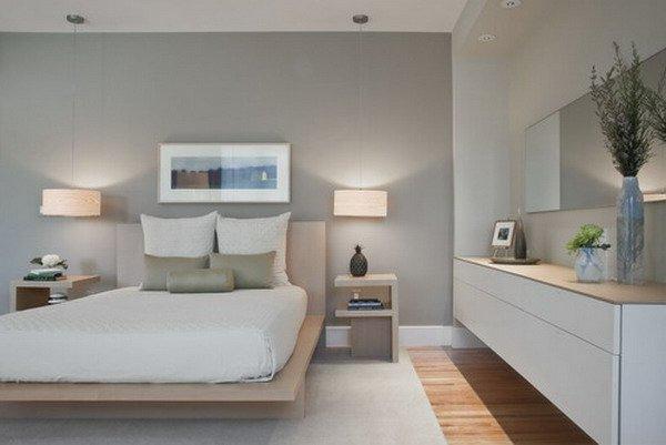 wandgestaltung schlafzimmer grau sch ne k che design